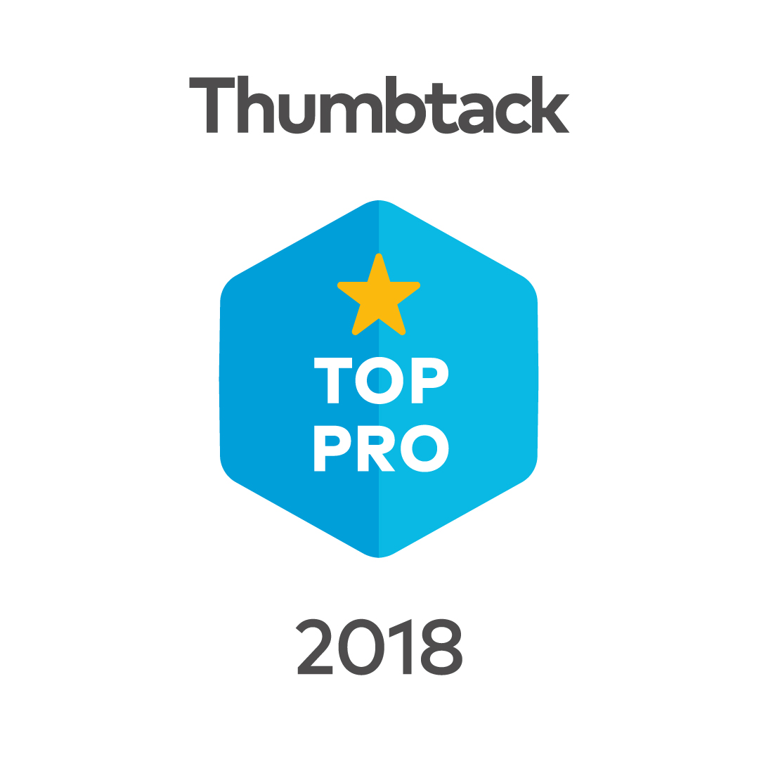 Thumbtack top pro badge for 2018